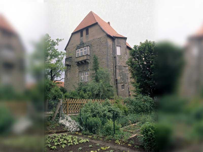 14. Hat viel gesehen, wo nichts los ist: Sachsenhagen, Wasserburg von 1240