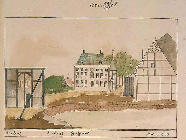 25. Verbote unterstützen die Raumbildung: Singraven, Wegkreuzung am Schloss