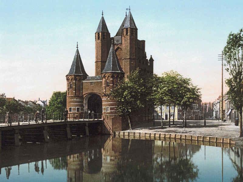 33. Stadtausgang / Eingang – Verkehrshindernis: Haarlem, Stadttor